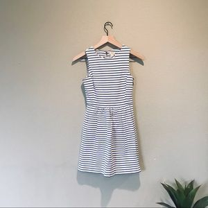 Striped J Crew Pocket Dress
